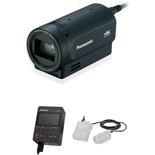 Panasonic Compact 4K Camera Head Kit with Portable Recorder