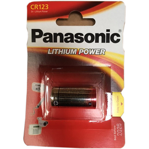 Panasonic CR123A Lithium Battery (3V)