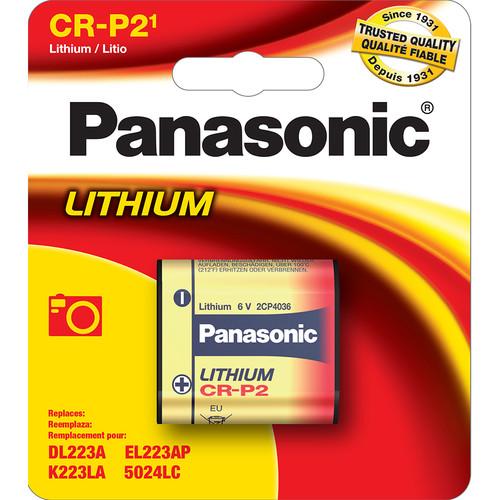 Panasonic CR-P2PA/1B Photo Lithium Battery (6V)