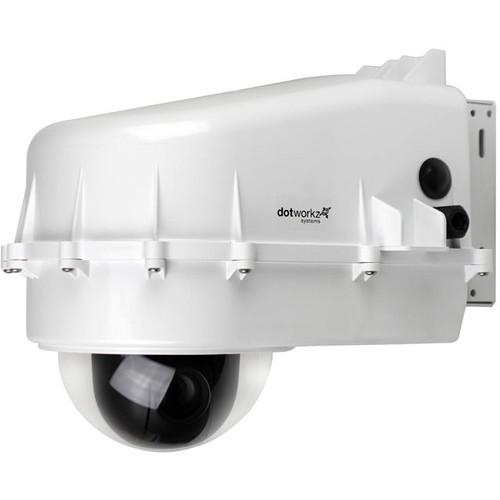 Panasonic UE70 Outdoor System with Heater & Blower, AW-UE70 4K PTZ Indoor Camera, and Teradek Cube 255 Encoder