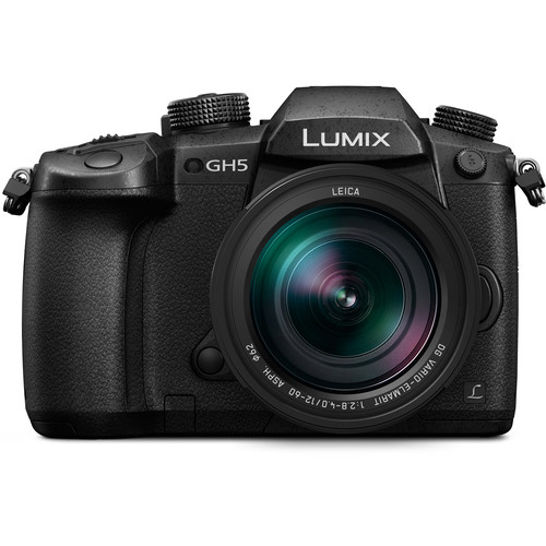 Panasonic Lumix DC-GH5 Mirrorless Micro Four Thirds Digital Camera with 12-60mm Lens