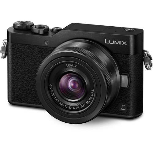 Panasonic Lumix DC-GX850 Micro Four Thirds Mirrorless Camera with 12-32mm Lens (Black)