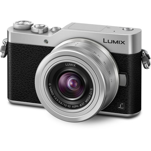 Panasonic Lumix DC-GX850 Micro Four Thirds Mirrorless Camera with 12-32mm Lens (Silver)