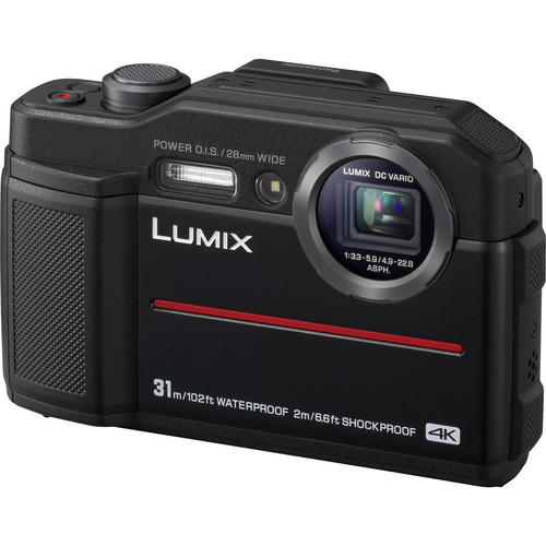 Panasonic Lumix DC-TS7 Digital Camera (Black)