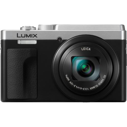 Panasonic Lumix DCZS80 Digital Camera (Silver)