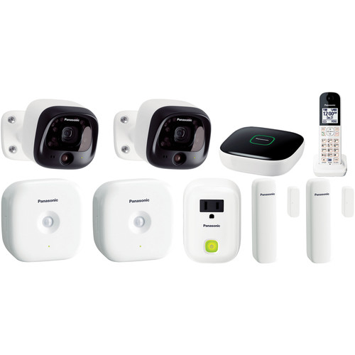 Panasonic DIY Wireless Home Security Bundle