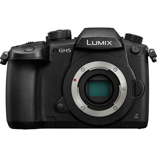 Panasonic Lumix DMC-GH5 Mirrorless Micro Four Thirds Digital Camera (Body Only)