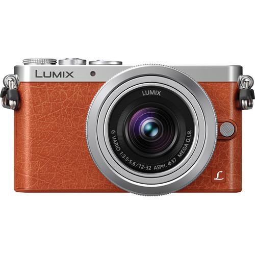 Panasonic Lumix DMC-GM1 Mirrorless Micro Four Thirds Digital Camera with 12-32mm Lens (Orange)