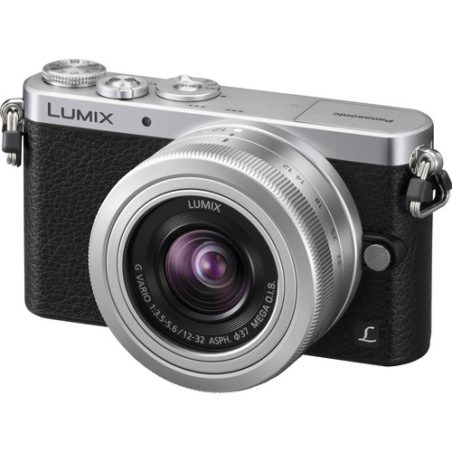 Panasonic Lumix DMC-GM1 Mirrorless Micro Four Thirds Digital Camera with 12-32mm Lens (Silver)