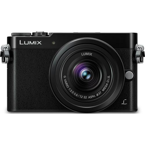 Panasonic Lumix DMC-GM5 Mirrorless Micro Four Thirds Digital Camera with 12-32mm Lens (Black)