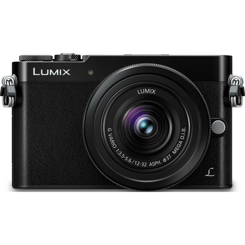 Panasonic Lumix DMC-GM5 Mirrorless Micro Four Thirds Digital Camera with 12-32mm Lens (Black)