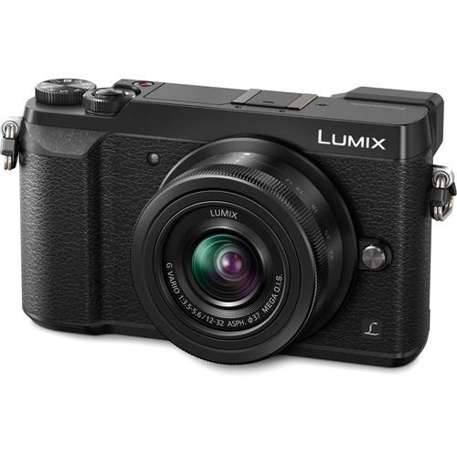 Panasonic Lumix DMC-GX85 Mirrorless Micro Four Thirds Digital Camera with 12-32mm Lens (Black)