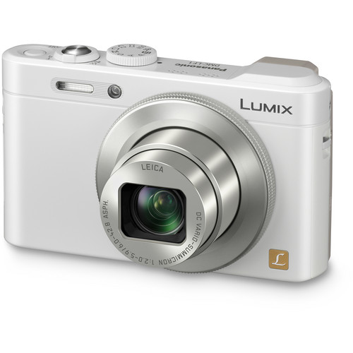 Panasonic LUMIX DMC-LF1 Digital Camera (White)
