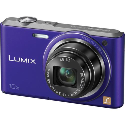 Panasonic Lumix DMC-SZ3 Digital Camera (Violet)
