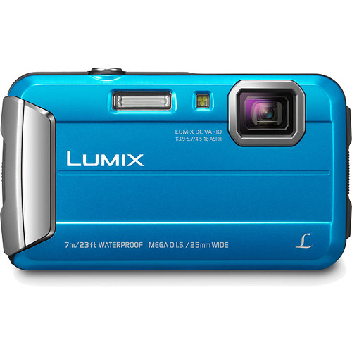 Panasonic Lumix DMC-TS25 Digital Camera (Blue)