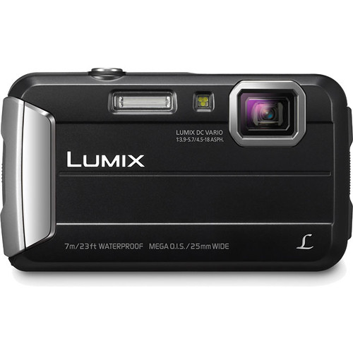 Panasonic Lumix DMC-TS25 Digital Camera (Black)