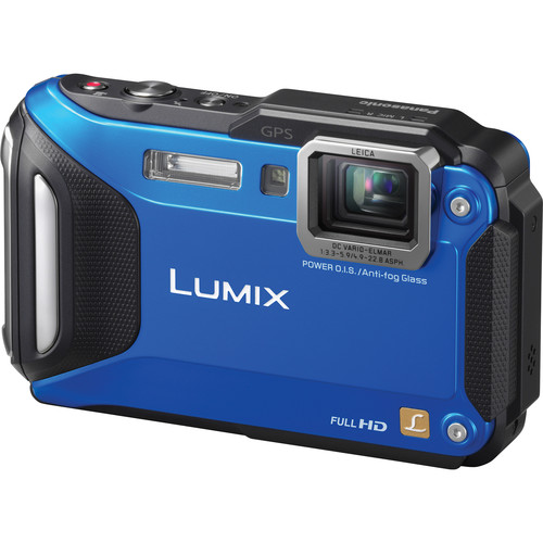 Panasonic Lumix DMC-TS6 Digital Camera (Blue)