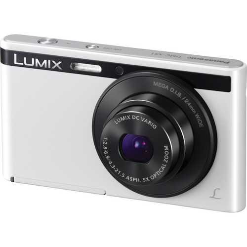 Panasonic Lumix DMC-XS1 Digital Camera (White)