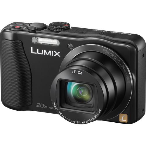 Panasonic Lumix DMC-ZS25 Digital Camera (Black)