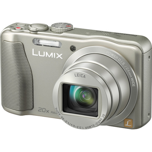 Panasonic Lumix DMC-ZS25 Digital Camera (Silver)