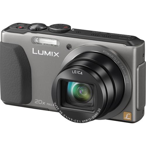 Panasonic Lumix DMC-ZS30 Digital Camera (Silver)