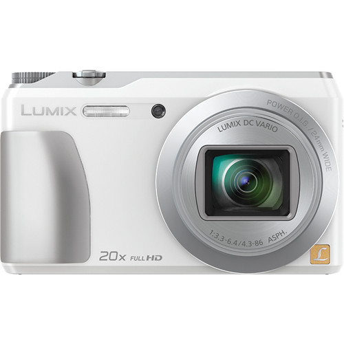 Panasonic Lumix DMC-ZS35 Digital Camera (White)