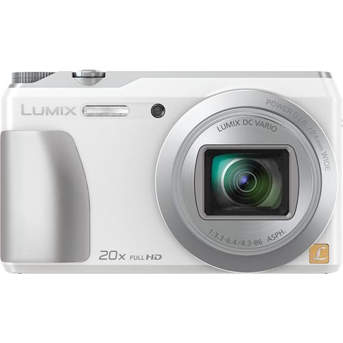 Panasonic Lumix DMC-ZS35 Digital Camera (White)
