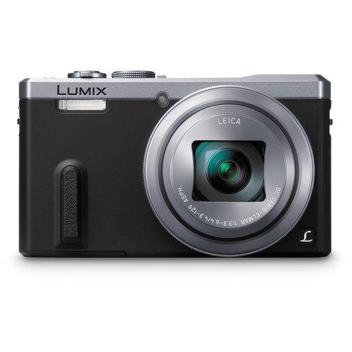 Panasonic Lumix DMC-ZS40 Digital Camera (Silver)