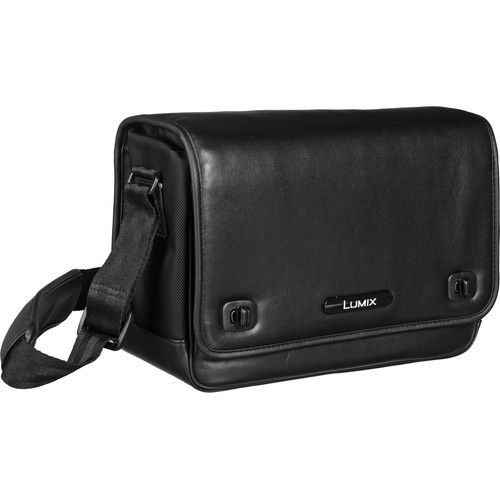 Panasonic DMW-BAL1PP Leather Case for Lumix Digital Cameras (Black)