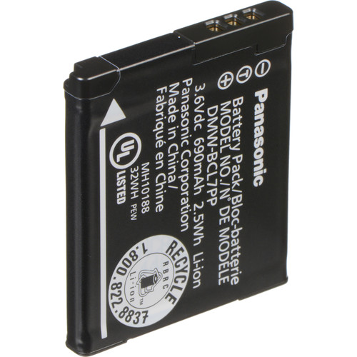 Panasonic DMW-BCL7 Lithium-Ion Battery Pack (3.6V, 690mAh)