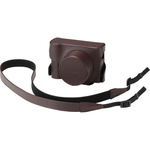 Panasonic DMW-CLX100 Jacket Case for DMC-LX100 Digital Camera (Brown)