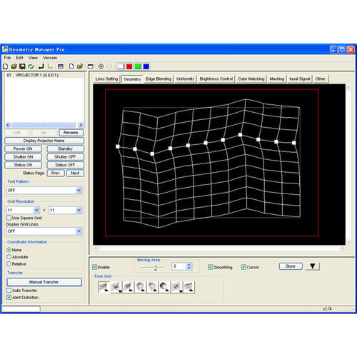 Panasonic ET-CUK10V Auto Screen Adjustment Upgrade for Geometry Manager Pro Software (License for One Projector)