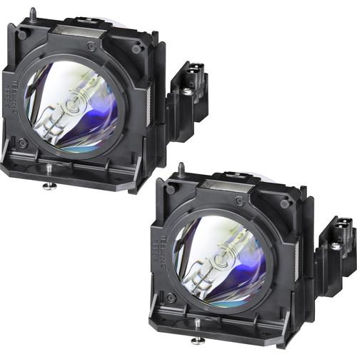 Panasonic ET-LAD70W Replacement LampSet for Select Panasonic Projectors (Set of Two Lamps)