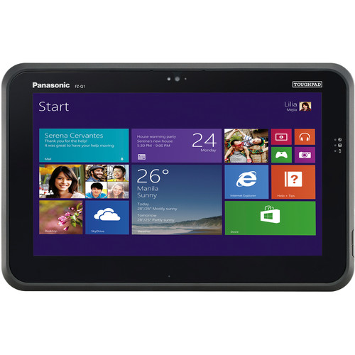 "Panasonic 12.5"" Toughpad FZ-Q1 Performance 128GB Tablet"