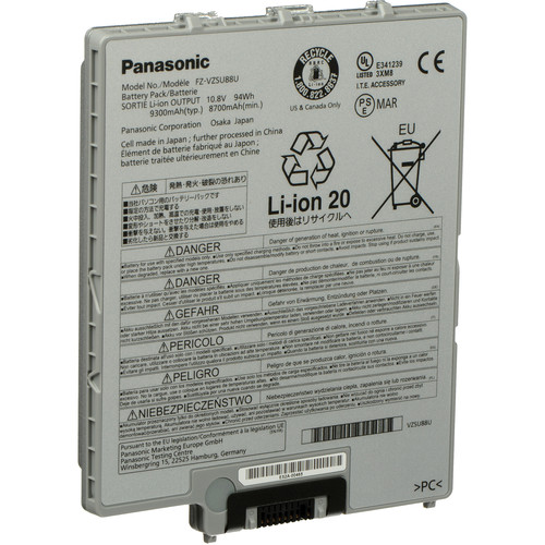 Panasonic 9-Cell Lithium-Ion Battery Pack for Toughpad FZ-G1