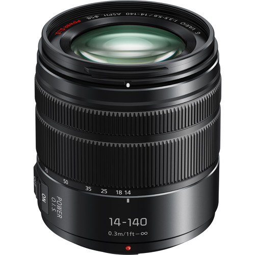 Panasonic Lumix G Vario 14-140mm f/3.5-5.6 II ASPH. POWER O.I.S. Lens
