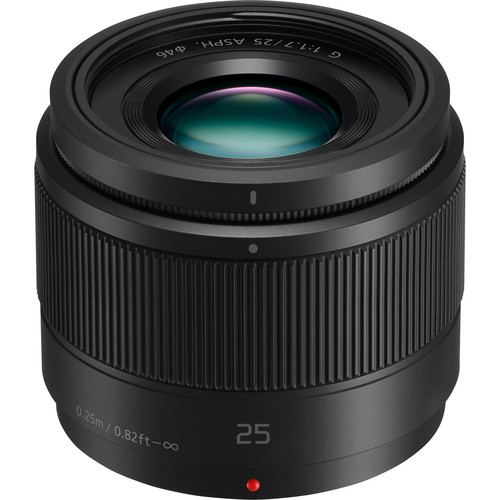 Panasonic Lumix G 25mm f/1.7 ASPH. Lens