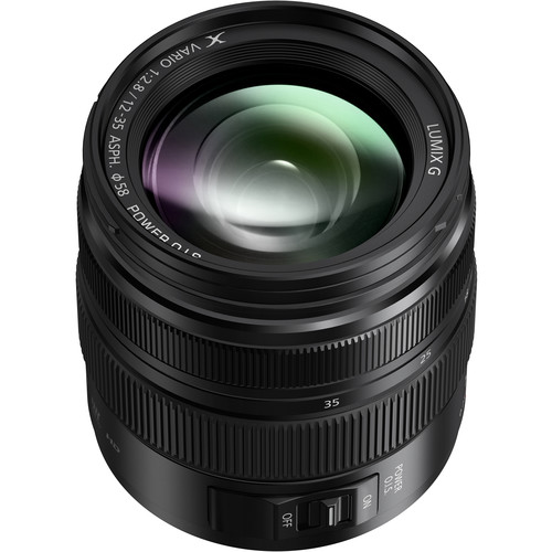 Lumix G X Vario 12 35mm F/2.8 Ii Asph. Power O.I.S. Lens by Panasonic