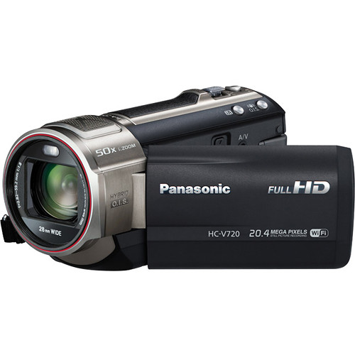 Panasonic HC-V720 Live Streaming HD Camcorder
