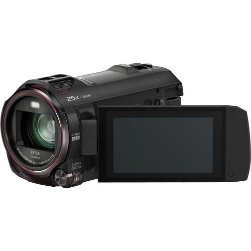 Panasonic - HC-VX870K 4K Ultra HD Flash Memory Camcorder - Black