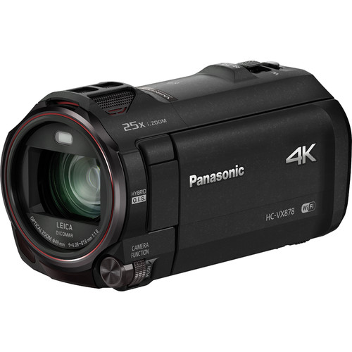 Panasonic HC-VX878EG-K 4K Ultra HD Camcorder (PAL, Black)