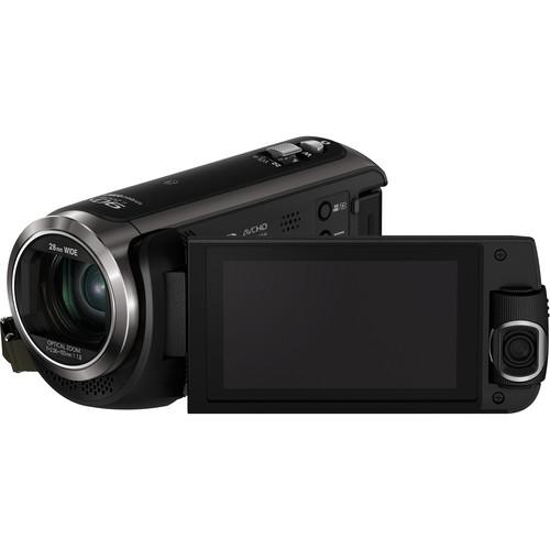 Panasonic HC-W570EG-K HD Camcorder with Twin Video Camera (PAL, Black)