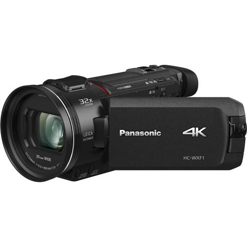 Panasonic HC-WXF1 UHD 4K Camcorder with Twin & Multicamera Capture