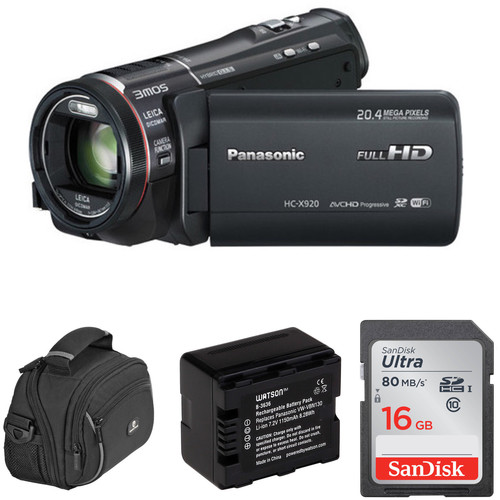 Panasonic HC-X920K Full HD Camcorder Basic Kit