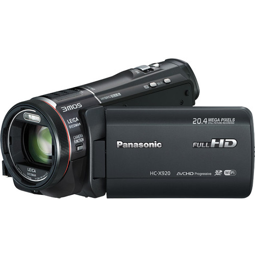 Panasonic HC-X920 3MOS Ultrafine Full HD Camcorder