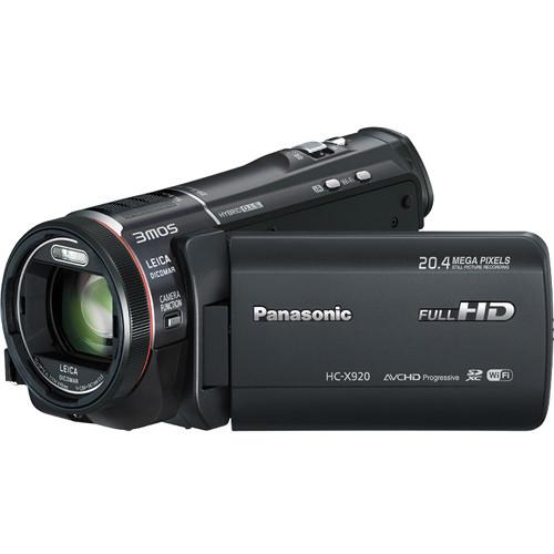 Panasonic HC-X920M-KE 3MOS Camcorder (PAL)