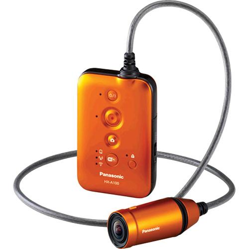 Panasonic HX-A100 Full HD Wearable POV Camcorder (Orange)
