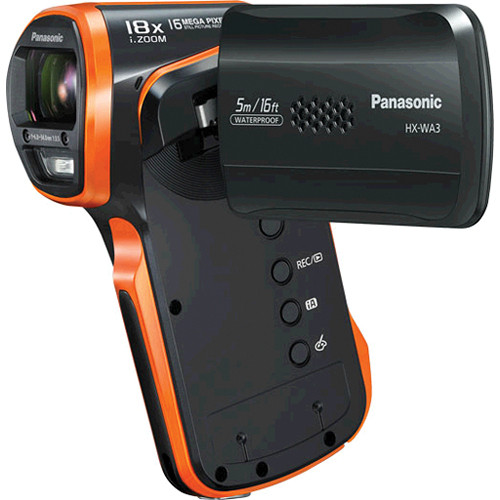 Panasonic HX-WA03 Full HD Active Lifestyle Camcorder (Black)