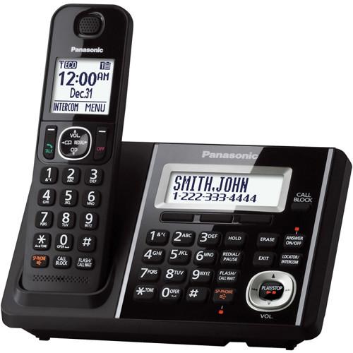 Panasonic Cordless Phone and Answering Machine with One Handset