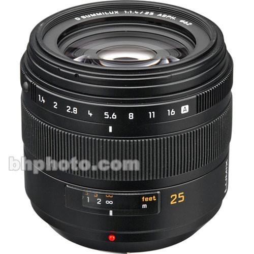 Panasonic 25mm f/1.4 Leica D Lens for Four Thirds System
